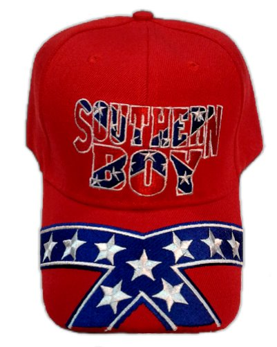 Southern Boy Confederate embroidered cap